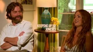 """Zach Galifianakis und Isla Fisher über """"Die Jones: Spione von nebenan"""""""