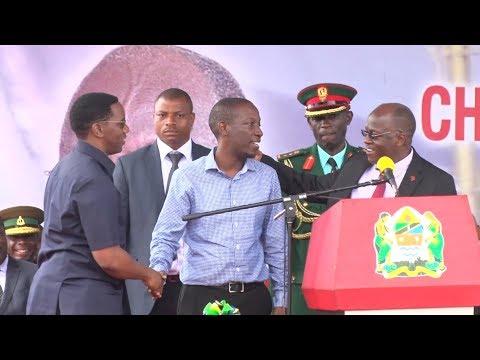 Rais Magufuli Amaliza Bifu la Makonda na Ruge Jukwaani