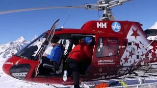 Zermatt Matterhorn - Helicopter Tour 2017 GoPro Hero5 & Panasonic Lumix