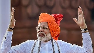PM Modi's Independence Day speech: Four major announcements