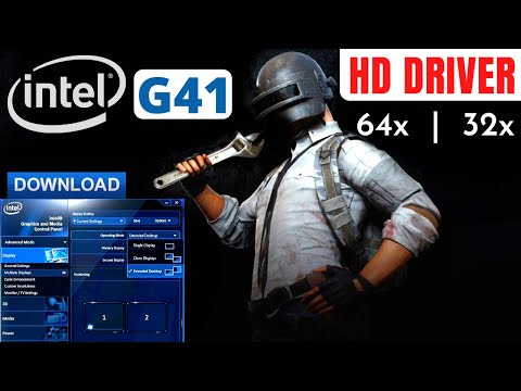 How To Download/Install HD Graphics For Intel G41 Express Chipset Family In Windows 10, 8.1 , 8, 7