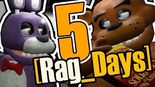 - 16 Rag Days 5 Спасение задницы five nights at freddy s GMod rag days