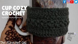 Cup Cozy Crochet | Mug Cozy Crochet | Coffee Mug Cozy Crochet | Gift Ideas | Crochet Ideas