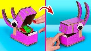 6 Cosas Que Puedes Hacer Con Tu Mejor Amigo / Increíbles Juegos De Cartón