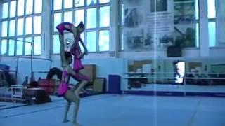 сдюшор № 9, спортивная акробатика, тройка женская