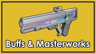 Destiny 2: Exotic Masterworks & Exotic Weapon Buffs