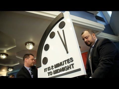 """Doomsday Clock"" moved to just two minutes to 'Apocalypse' - End-Time News: The Bulletin of the A..."