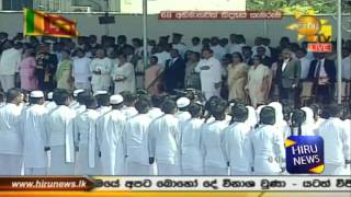Tamil Version of National Anthem of Sri Lanka Singing at 68th National Independence Day new