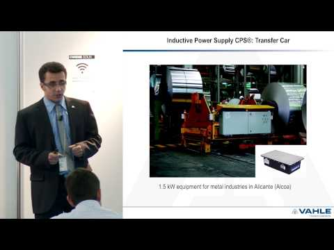 CWIEME 2014 - Wireless power transfer - Dr Faical Turki