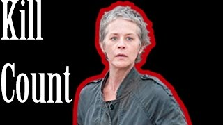 The Walking Dead Kill Count - Carol vs the Wolves 6x02