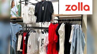Бегом в Zolla Золла Новая коллекция 2021 Шоппинг влог Обзор шопинг г Новосибирск