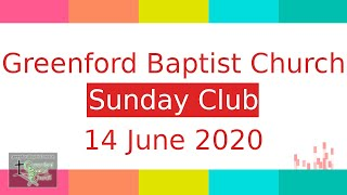 Sunday Club - 14 June 2020