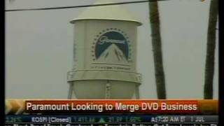 Paramount Looking To Merge DVD Business - Bloomberg