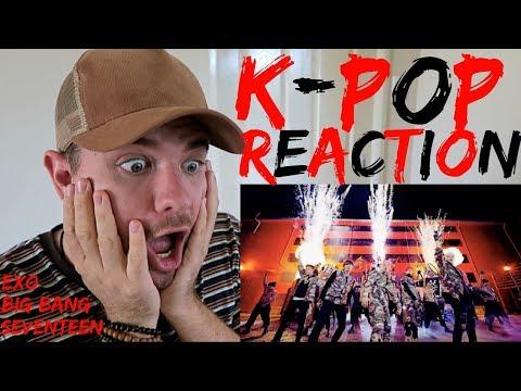 AUSTRALIAN REACTS TO K-POP!!! (BIG BANG, EXO, SEVENTEEN)