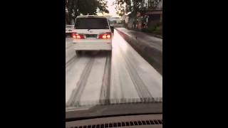 Snow in Jakarta