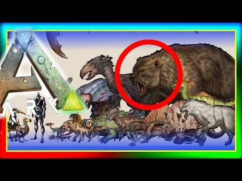 ARK Dinosaur SMALLER Size Comparisons!  (New ARK: Survival Evolved Artwork) Dino Sizes Chart!