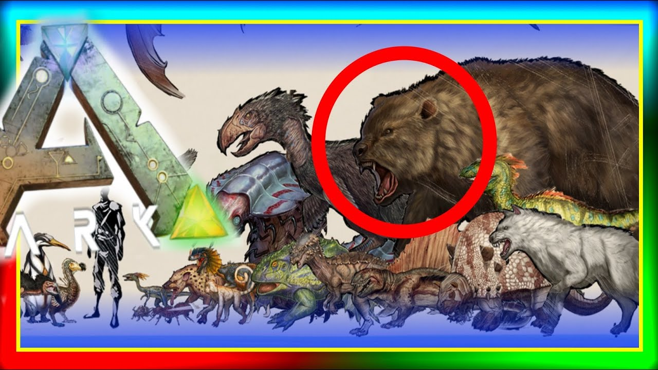 ARK Dinosaur SMALLER Size Comparisons! (New ARK: Survival Evolved ...
