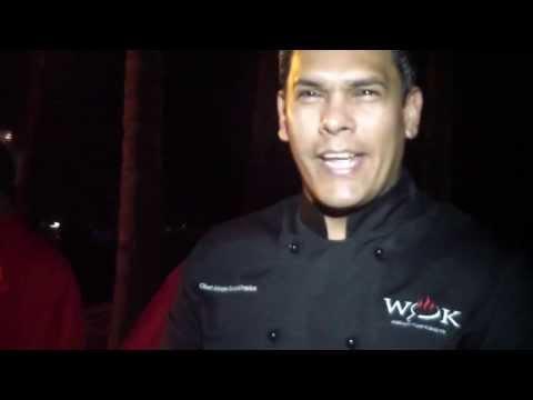 Chef Alvaro Sosa en Saborea Summer Party