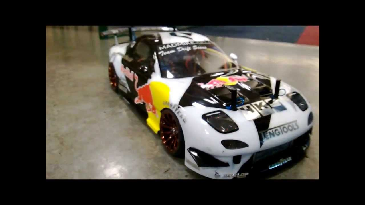 Rc Drift Mad Mike Rx Madbull Hd Youtube