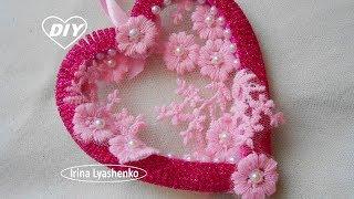 Валентинка из фома своими руками МК2/ DIY Valentines Foam/PAP Tutorial do Dia dos Namorados#202