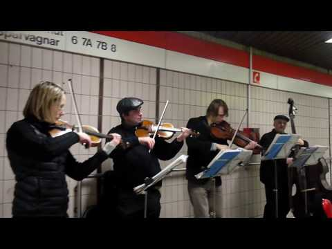 Music Performed in Helsinki Metro-station