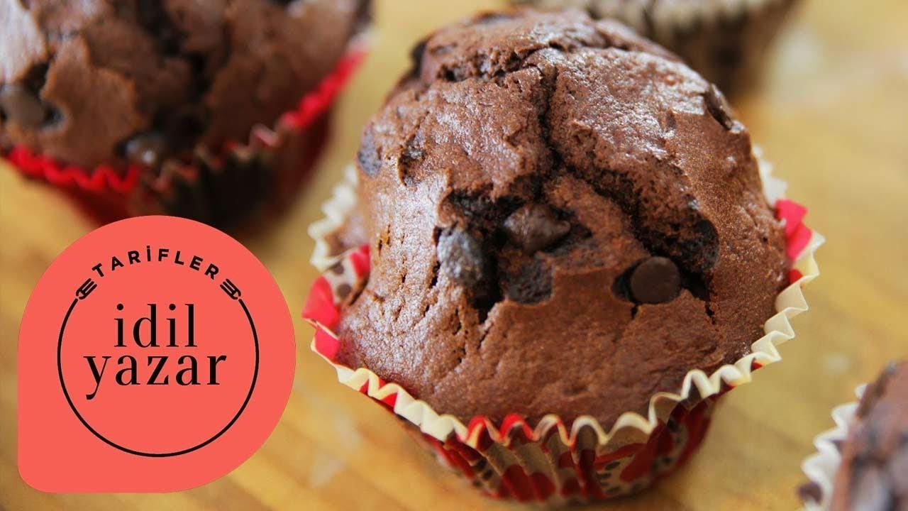 Yumuşacık Kakaolu Muffin Tarifi Videosu