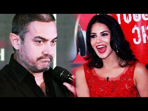 Sunny Leone's SHOCKING REACTION On Aamir...
