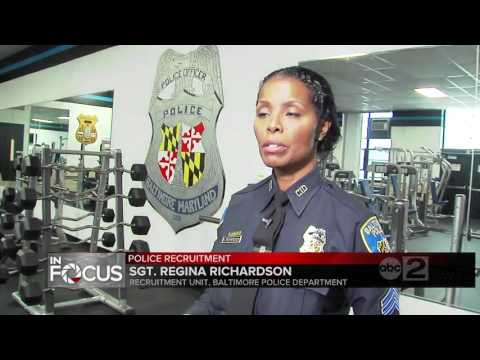 Baltimore Police Department Looking To Hire 230+ Officers This Year
