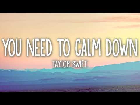"""taylor-swift-""""you-need-to-calm-down""""-isolated-vocals"""
