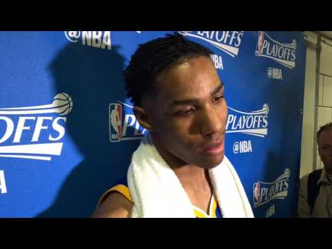PATRICK McCAW, Golden State Warriors (3-0) postgame, Game 3 vs Portland Trail Blazers