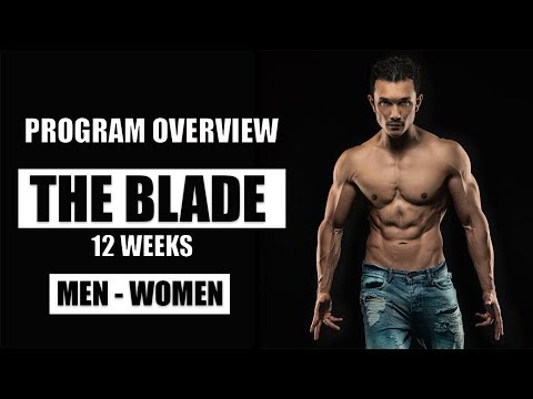 PROGRAM OVERVIEW- THE BLADE Workout| Nutrition| Supplement Info by Jeet Selal, ft. Lilian Dikmans