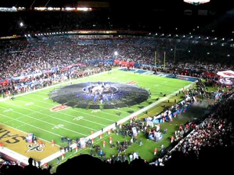 Super Bowl XLIV The WHO Halftime Show From My Seat