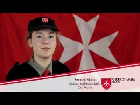 Order of Malta Cadets: Eimear's Story. Better Together.