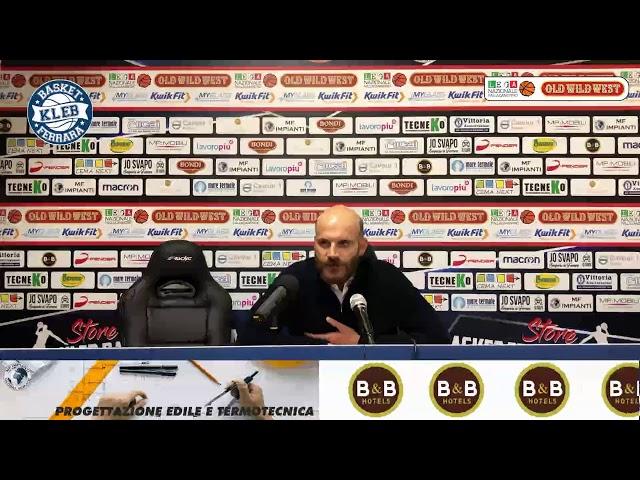 Conferenza Stampa Post Jesi: Damiano Cagnazzo