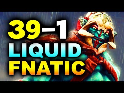 LIQUID vs FNATIC - 39-1 GG!!! - #TI8 THE INTERNATIONAL 8 DOTA 2