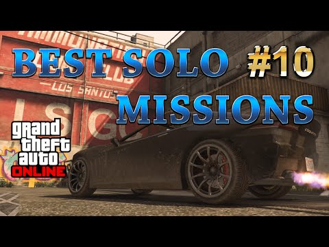 GTA 5 Online Best Solo Missions - Chasers. Making Money $18000 and 3000RP