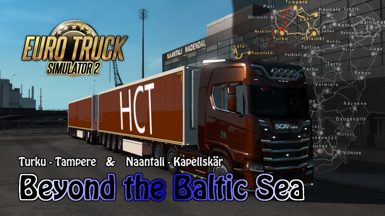 euro truck simulator 2 026 beyond the baltic sea youtube. Black Bedroom Furniture Sets. Home Design Ideas