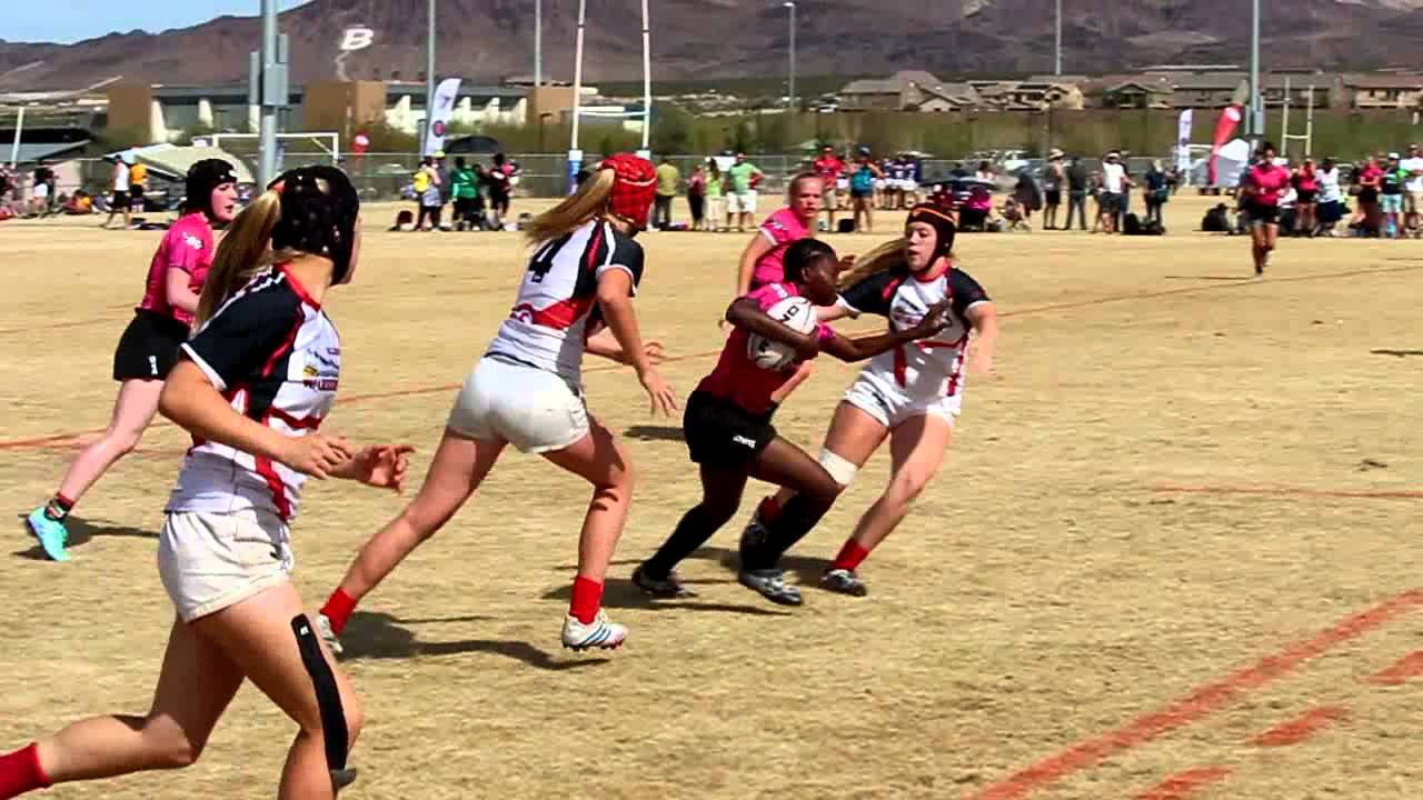 Atlantis vs FallBrook 7s U18 Girls Las Vegas Invitational 2016 YouTube