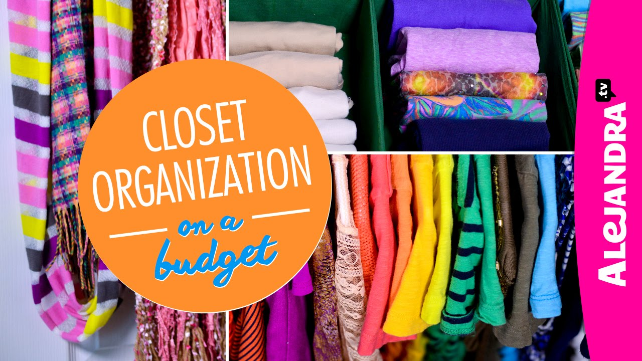 Closet Organization On A Budget Part Of Dollar Store