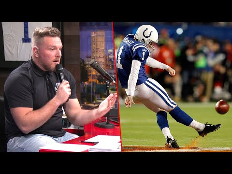 Pat McAfee Talks Kicking Off The Super Bowl