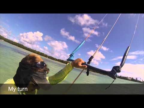 2015 Kitesurf lessons Club Mistral. Ainse La Raie, Mauritius