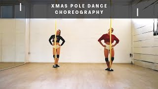 Xmas Pole Dance Choreography (Teja&Maja)