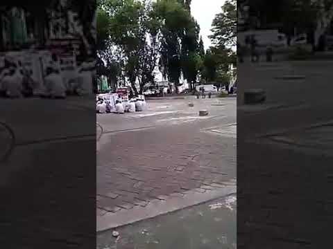 Solidaritas Santri Jokowi Dibanjarbaru Sepi Pengunjung