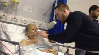 OLD CHINESE MAN TAKES SHAHADA IN HOSPITAL