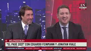 El pase 2021 entre Eduardo Feinmann y Jonatan Viale