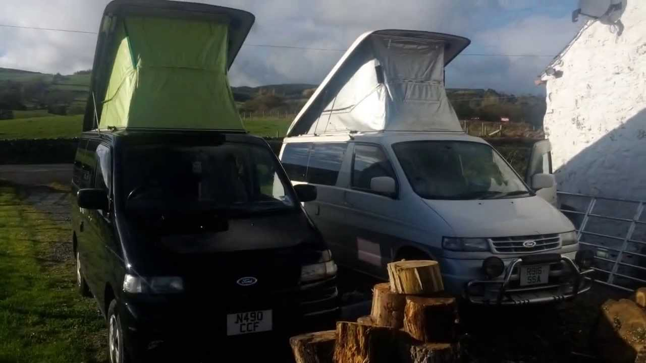 & Ford Freda/Mazda Bongo - Treating Mold/Mildew In Roof Tent - YouTube