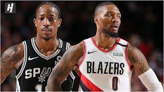 San Antonio Spurs vs Portland Trail Blazers - Full Game Highlights   February 6, 2020 NBA Season