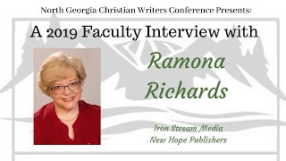 Interview with Ramona for North Ga Christian Writers Conference