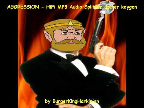 AGGRESSiON - HiFi MP3 Audio Splitter Joiner keygen music