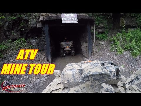 MINES AND MEADOWS ATV PARK PT 6...UNDER GROUND MINE TOUR